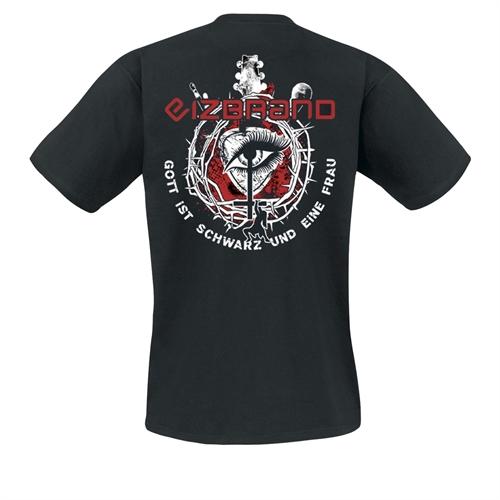 Eizbrand - Gott ist schwarz und eine Frau, T-Shirt
